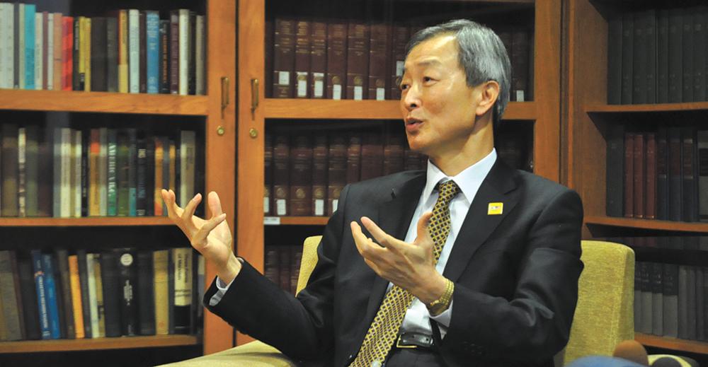 Ambassador Alumnus Returns