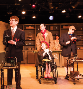 """MICHELLE XU/THE HOYA  The Mask and Bauble Dramatic Society performs """"She Loves Me,"""" a musical, as part of Georgetown University Arts Week, which runs from April 5 to 12."""