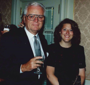 COURTESY CLYDE'S RESTUARANT GROUP Tombs, 1789 and F. Scott's founder Richard McCooey with his wife Karen. McCooey lived most of his life in Georgetown.