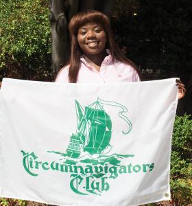 JULIA HENNRIKUS/THE HOYA Harmonie Kobanghe (SFS '15) spent 10 weeks travelling the globe this summer.