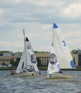 GU HOYAS The No. 14 women's sailing team and No. 2 coed squad won their respective events at the MAISA regatta in Annapolis, Md.