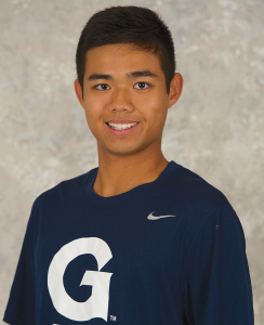 Courtesy GUHoyas Freshmen Marco Lam (left) and Peter Beatty (right) have both enjoyed early success in the Georgetown Classic and UPenn Invitational.