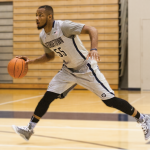 MICHELLE XU/THE HOYA Senior guard Jabril Trawick is ready to embrace his role as a vocal and emotional leader for the team.