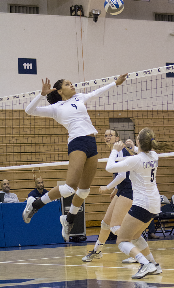 Volleyball | Hoyas End...