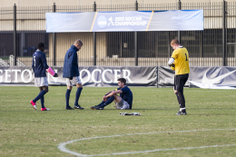 MEN'S SOCCER | Hoyas Eliminated by Spartans in the NCAAs
