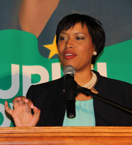 FILE PHOTO: NATASHA THOMSON/THE HOYA Muriel Bowser was sworn in Friday as the District's eighth mayor.