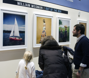 STANLEY DAI/THE HOYA William Wegman donated five photographs to the Lombardi Comprehensive Cancer Center to support its Arts & Humanities Program.