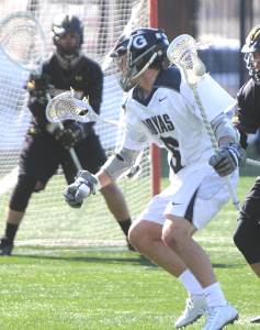 Men's Lacrosse | 1st Half Mistakes Cost GU At Home