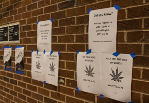 FILE PHOTO: DANIEL SMITH/THE HOYA Initiative 71, which passed in November with 69 percent of the vote and which legalizes marijuana, will go into effect at 12:01 a.m. Thursday after the conclusion of a 30-day congressional review period.