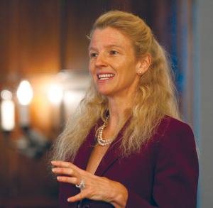 COURTESY CATHERINE TINSLEY Georgetown's Women's in Leadership Initiative Director Catherine Tinsley released research that revealed that both men and women consider males as the primary breadwinners in families.