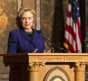 Clinton Broaches Campus Assault in 2016 Race
