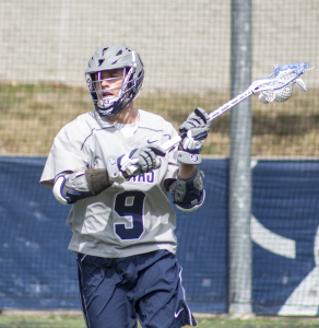 FILE PHOTO: CLAIRE SOISSON/THE HOYA Former Georgetown attack Reilly O'Connor was selected with the seventh overall pick of the National Lacrosse League Draft Sept. 28. O'Connor scored 66 goals for Georgetown from 2012-15.