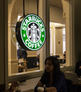 CAROLINE KENNEALLY FOR THE HOYA Five Starbucks locations in D.C. may soon serve wine and beer, pending approval from the Alcoholic Beverage Regulation Administration.