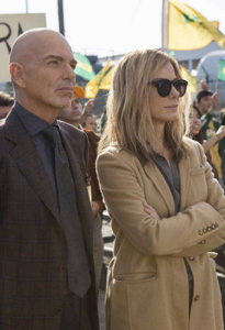 """WARNER BROS. PICTURES Sandra Bullock plays """"Calamity"""" Jane Bodine in """"Our Brand is Crisis."""""""