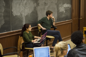 FILE PHOTO: ALEXANDER BROWN/THE HOYA An emotionally charged debate between GULC faculty and students on how to respond to the death of Justice Scalia (CAS '57) erupted last week.