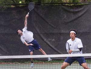 Men's Tennis | Princeton Match Tests Depth