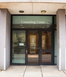 FILE PHOTO: DANIEL SMITH/THE HOYA GU Counseling and Psychiatric Services offers students who have survived sexual assault free semester-long counseling.