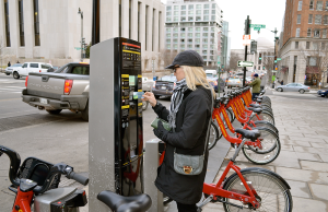 COURTESY CODDESS The DDOT launched an initiative to make Capital Bikeshare more affordable for low-income residents in the District.