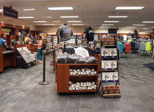 SOPHIE FAABORG-ANDERSON/THE HOYA The Georgetown University Bookstore is switching vendors from Follett to Barnes & Noble after the university's contract with Follett expires at the end of June.