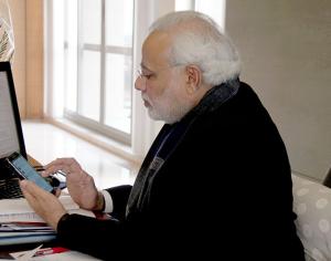 NARENDRAMODI.IM University of Michigan professor Joyojeet Pal argued that Prime Minister Modi revolutionized his political activism through social media.