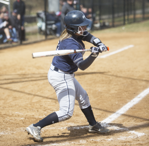 FILE PHOTO: JULIA HENNRIKUS/THE HOYA Junior pitcher Delaney Osterday pitched four innings, allowed two runs on four hits and threw a strikeout in the final game of Georgetown's weekend series against Seton Hall.