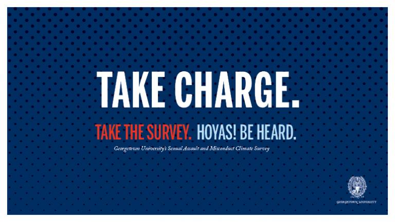 GEORGETOWN UNIVERSITY The survey, which 7,926 students participated in, showed  31 percent of female undergraduate students have experienced non-consensual sexual contact.