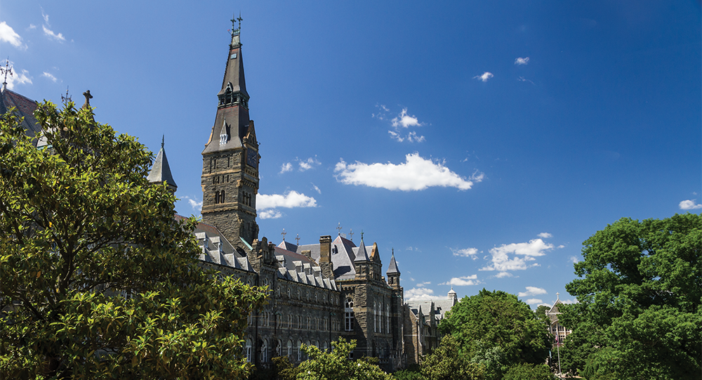 ALEXANDER BROWN/THE HOYA Descendants are asking the university to collaborate with them, after University President John J. DeGioia announced a series of efforts by the university to reconcile Georgetown's history with slavery on Sept. 2, including offering an admissions advantage to the descendants similar to that of legacy students.