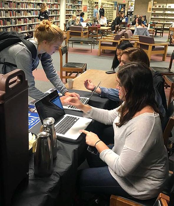 GU Votes Registers Students
