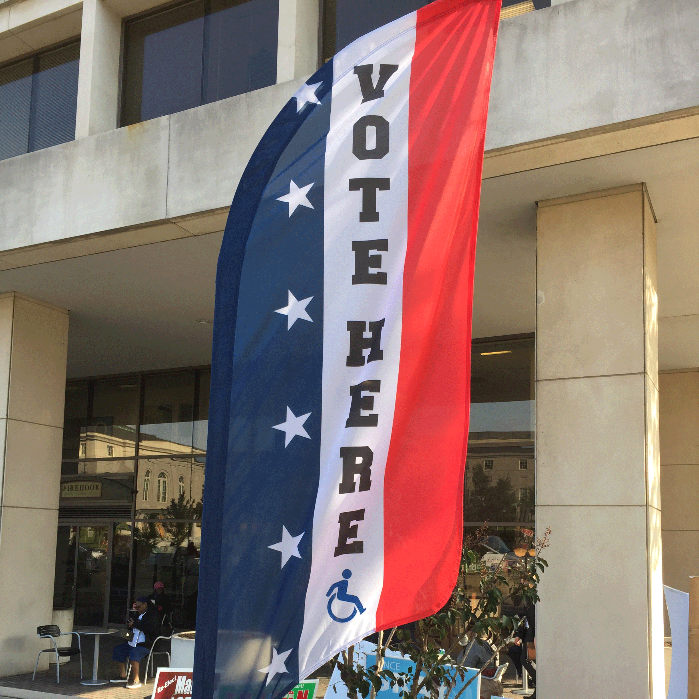 LISA BURGOA/THE HOYA Numerous efforts by student organizations such as GU Votes have encouraged students to make their voices heard in the 2016 election.