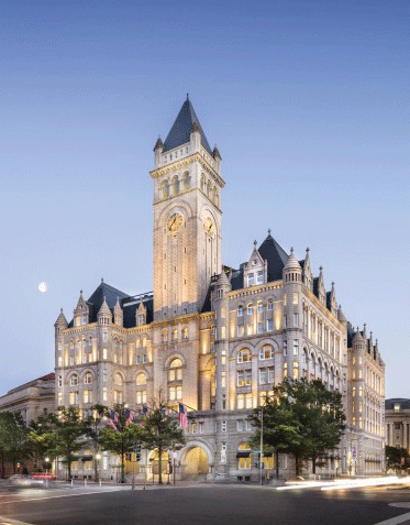 Trump Hotel Opening Spurs Labor Protests