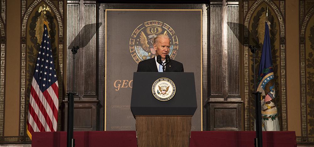 Biden Cautions Against Deregulation
