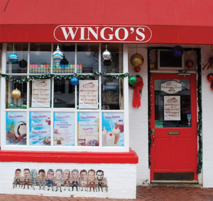 WINGO'S Several restaurants in the Georgetown neighborhood, including Wingo's participate in Elevate's meal plan.