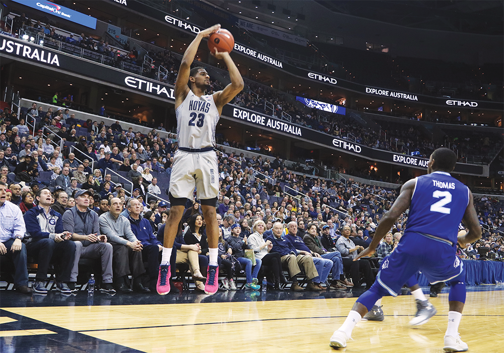 Men's Basketball | Hoyas Prepare for Conference Rematch