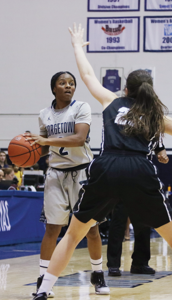 Women's Basketball | Hoyas Hit Road for Two Conference Games