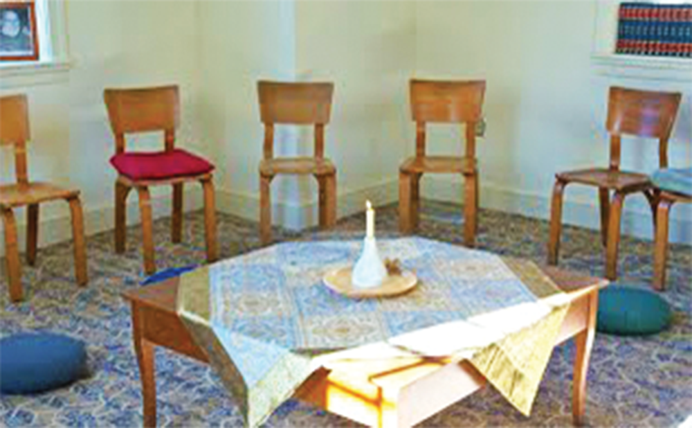 JOHN MAIN MEDITATION CENTER Teaching people how to integrate the practice of meditation into their daily routines remains the primary purpose of the JMC nonprofit organization, twelve years after its launch.