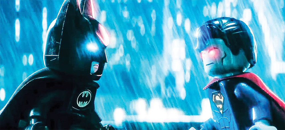 """WARNER ANIMATION GROUP After 2014's hugely successful """"The LEGO Movie,"""" """"The LEGO Batman Movie"""" tries to capture the same free-wheeling, irreverent humor while incorporating a grittier, edgier perspective. Though the film succeeds on many fronts, it lacks the same effortless heart and emotion of its franchise predecessor."""