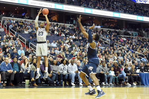 Graduate student guard Rodney Pryor dropped 21 points on 7-of-19 shooting from the field in Saturday's loss to Villanova.