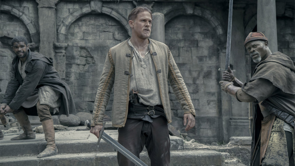 Hunnam and Hounsou Discuss 'King Arthur,' Acting