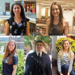 JESUS RODRIGUEZ/THE HOYA Five students will be recognized as valedictorians and Dean's Medal recipients for maintaining the highest GPA in their schools this weekend.