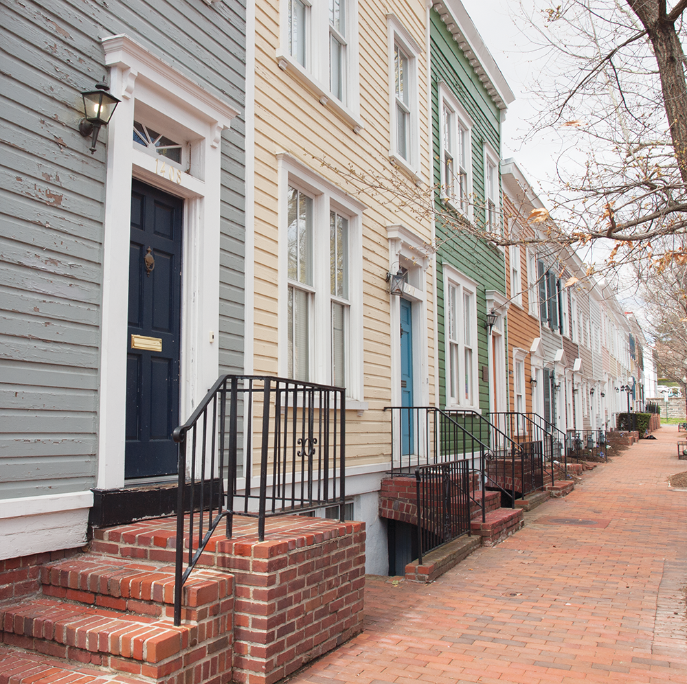 Architectural Ancestry: Georgetown's Buildings Blend Old and New
