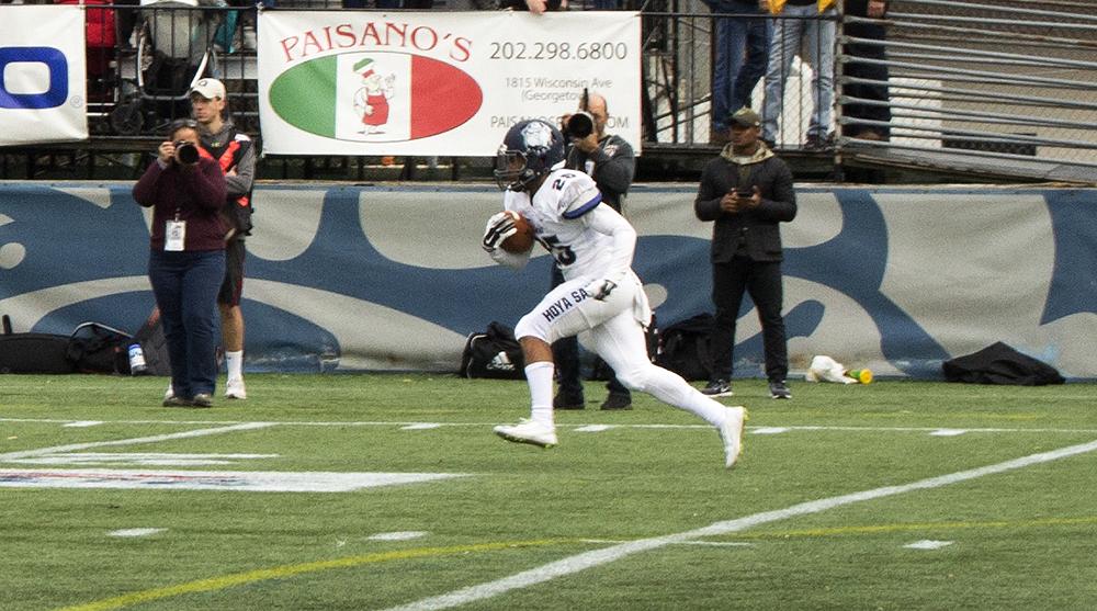 Football | Hoyas Struggle vs. Dartmouth