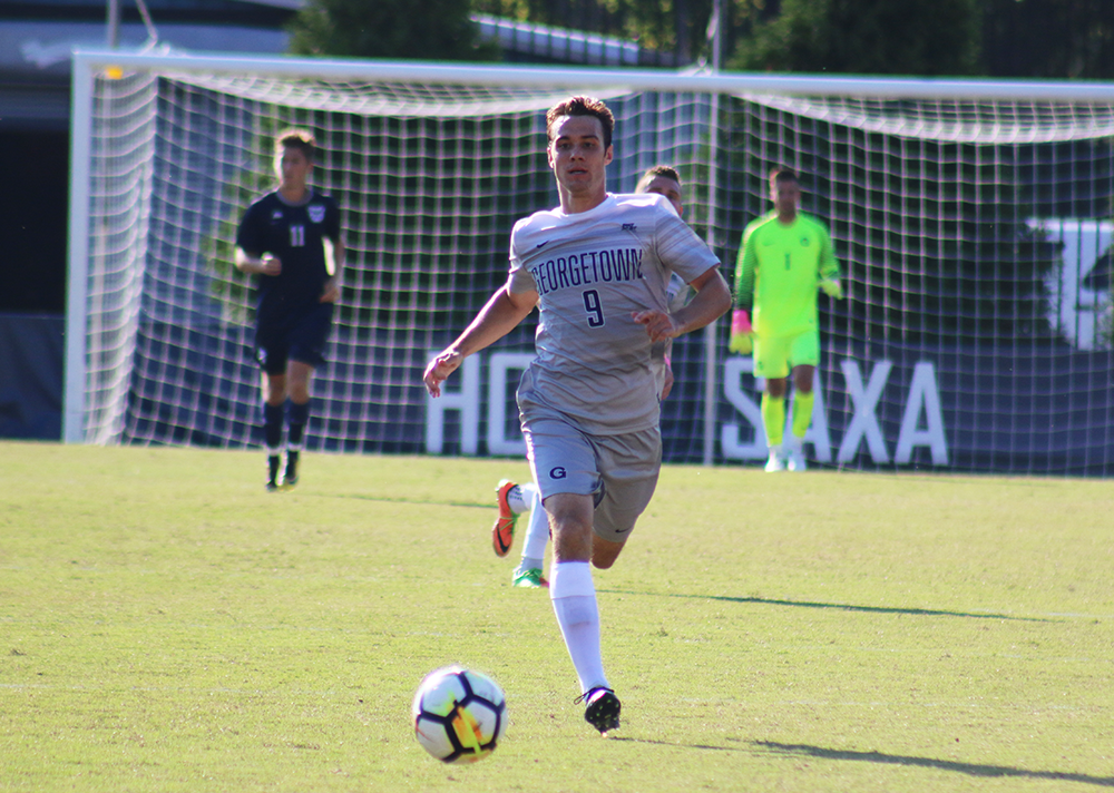 Men's Soccer | GU Falls to Xavier in Big East Opener