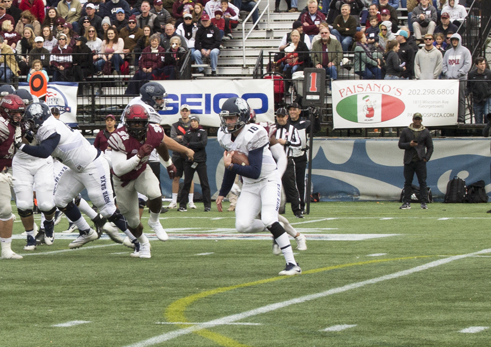 Football | Hoyas Cannot Find End Zone in Loss