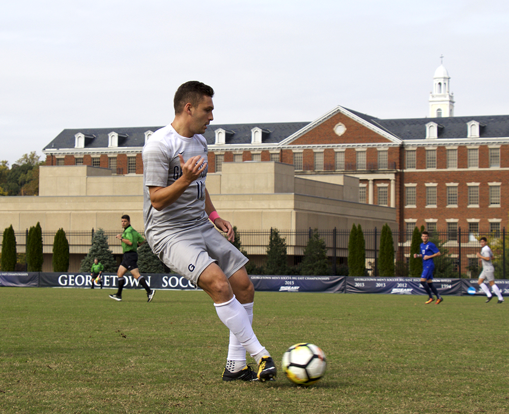 Men's Soccer | GU Falls to High-Ranked Louisville