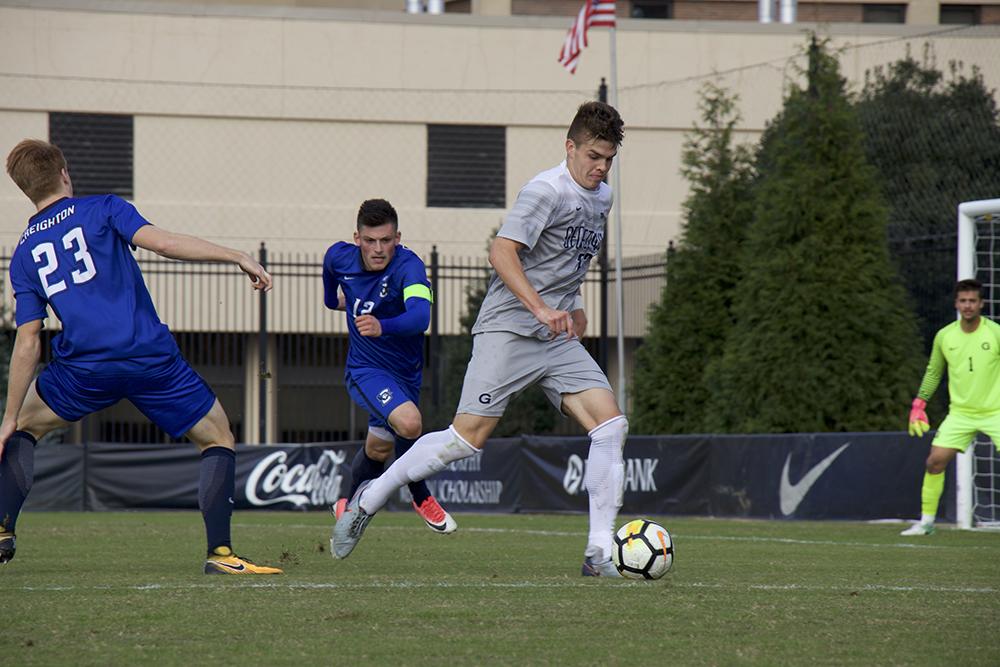 Men's Soccer | GU Rolls vs Yale