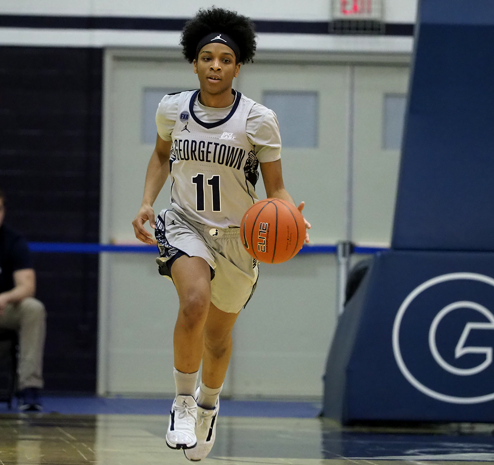 WOMEN'S BASKETBALL | Georgetown's Season Ends in WNIT Quarterfinals