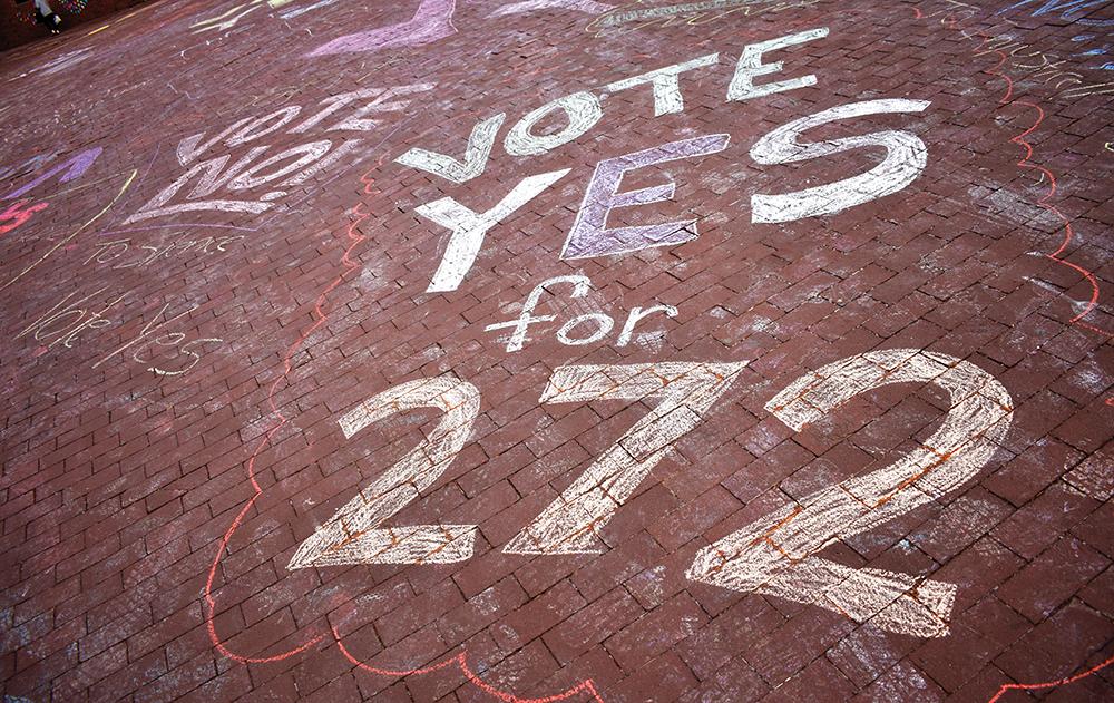 Students Endorse Reconciliation Fee in GU272 Referendum