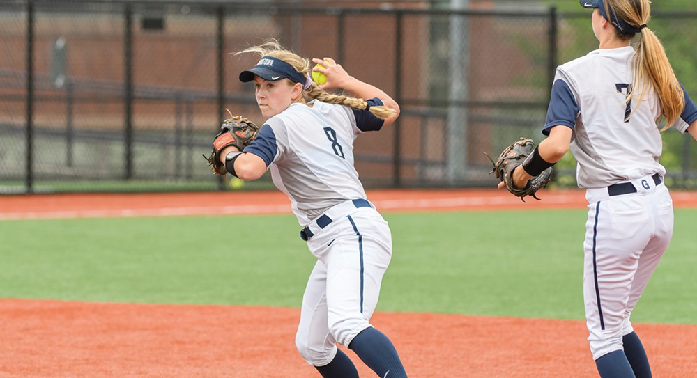 SOFTBALL | Hoyas Unable to Build Momentum in Season-Ending Series With Providence