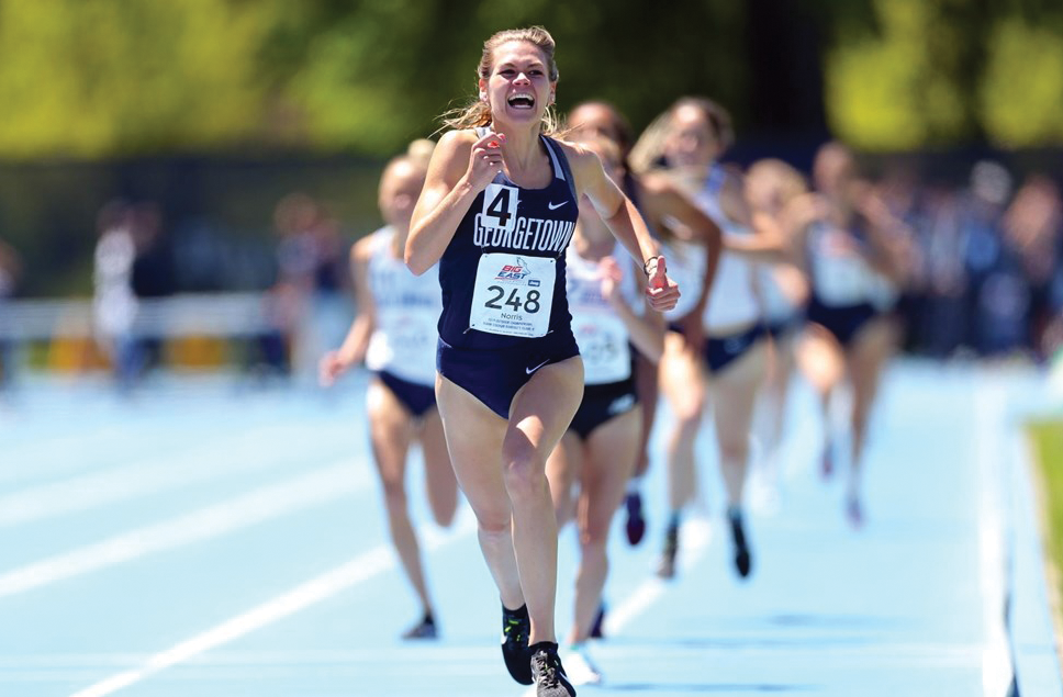 TRACK AND FIELD | Hoyas Garner Strong Wins at Big East Championship